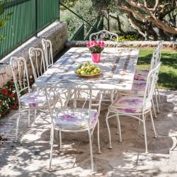 Housse de protection pour Table de jardin Rectangulaire 240 x 110 x h70 cm