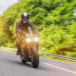 Housse de protection pour moto