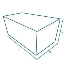 Housse de protection extérieure sur mesure Forme B Table Mobilier