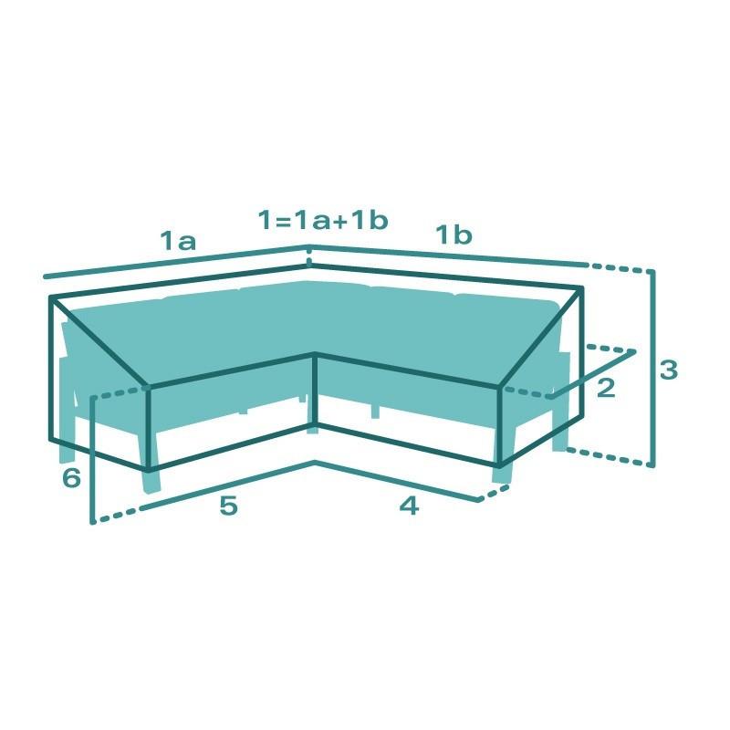 Housse de protection sur mesure Canapé angle