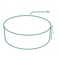 Housse de protection extérieure sur mesure Forme D cylindrique trampoline BBQ rond