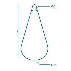 Housse de protection extérieure sur mesure Forme F Conique Parasol