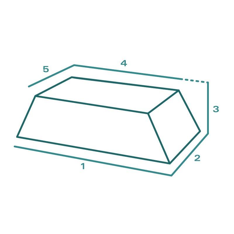 Housse de protection extérieure sur mesure Forme H Trapèze