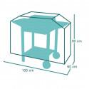 Housse de protection pour Chariot à plancha 100 x 60 x h90 cm