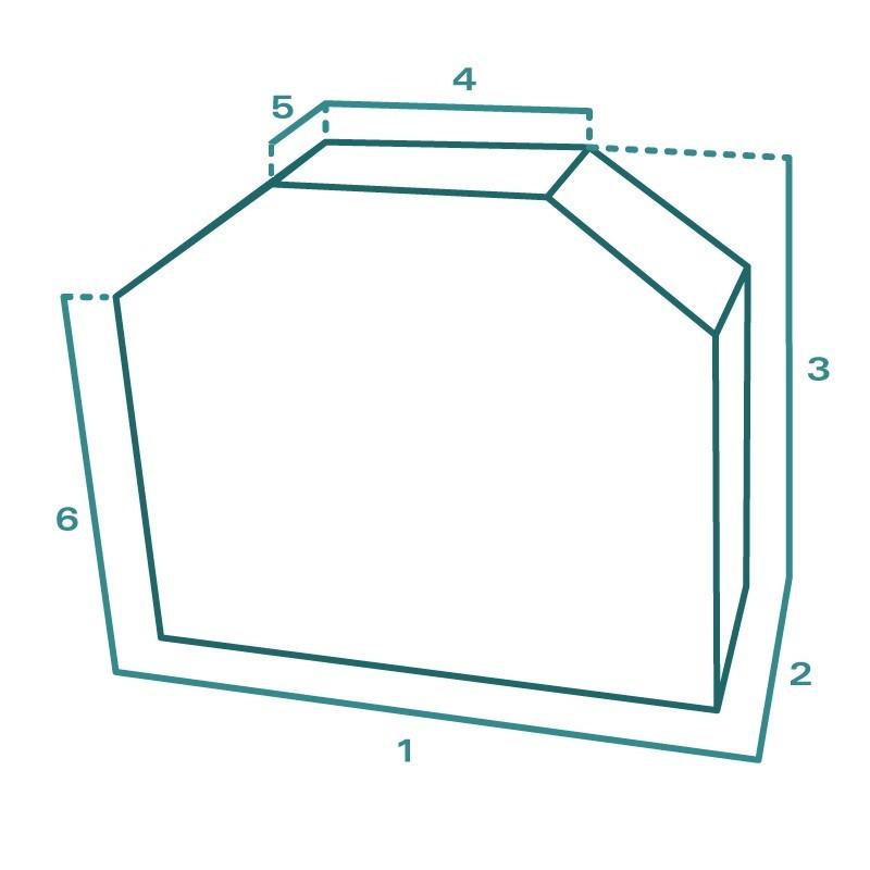 Housse de protection extérieure sur mesure Forme E