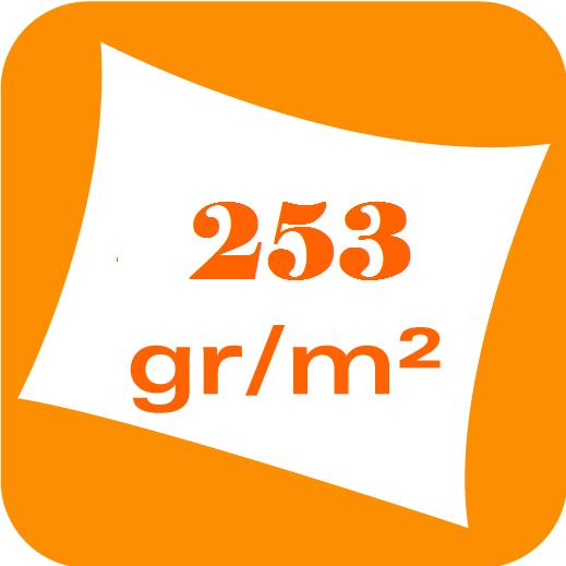 Polyester 253 gr/m²