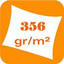 Polyester 356 gr/m²